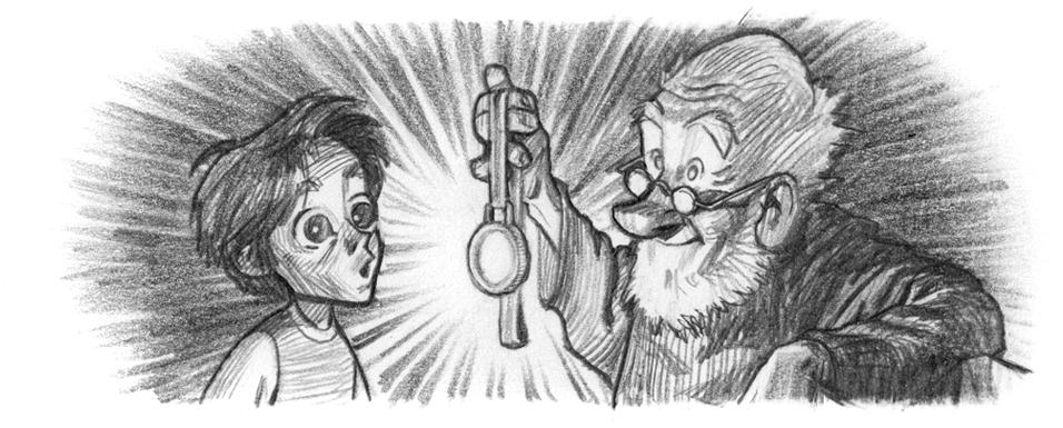 Morfar och medaljen